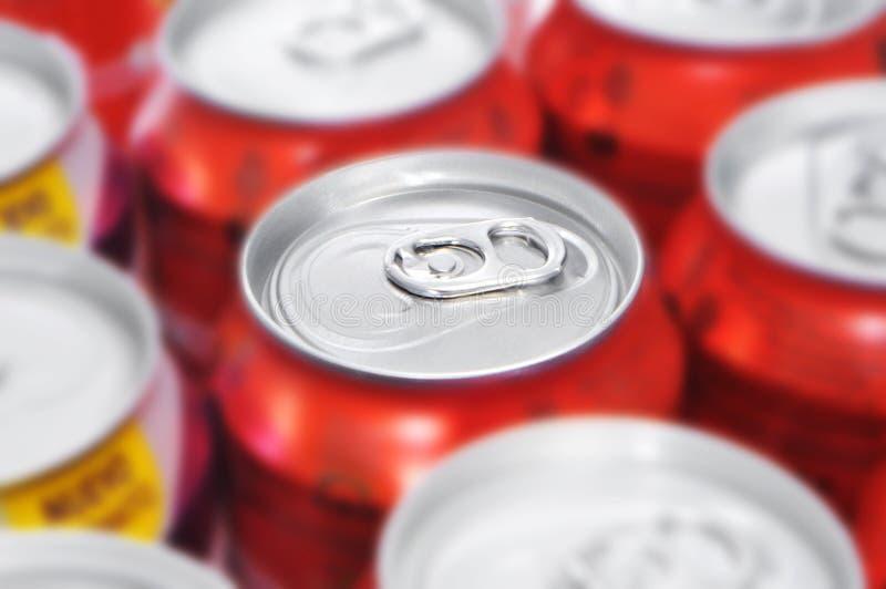 汽水罐 免版税库存图片