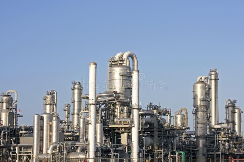 汽油工厂 免版税库存图片