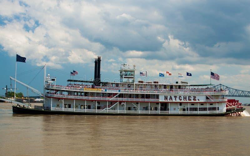 汽船Natchez 库存图片