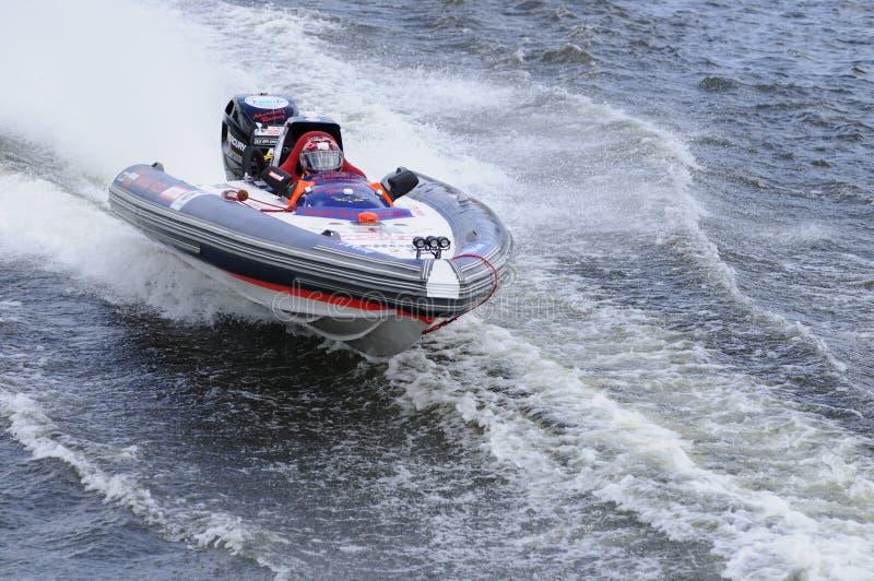 汽艇体育运动 库存图片