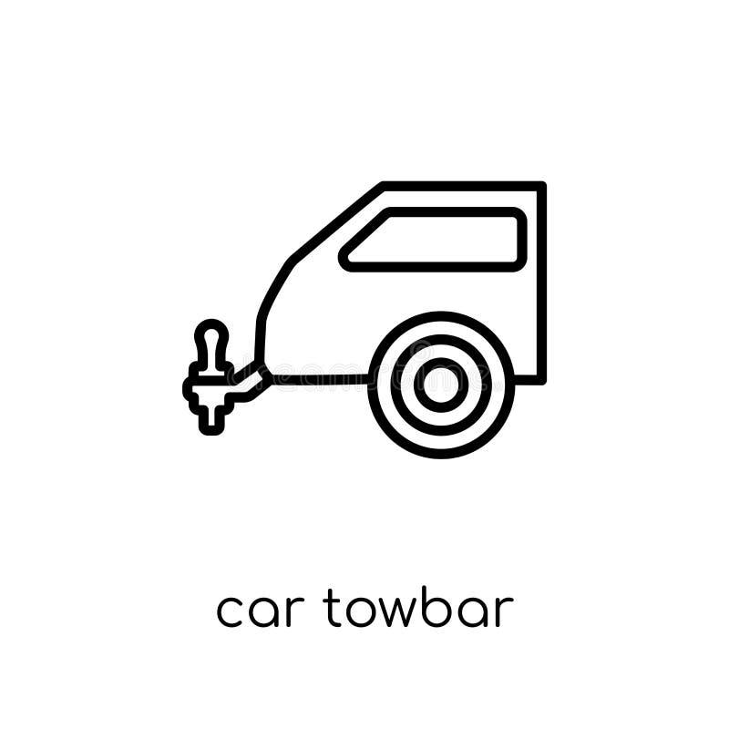 汽车从汽车零件汇集的牵引杆象 皇族释放例证