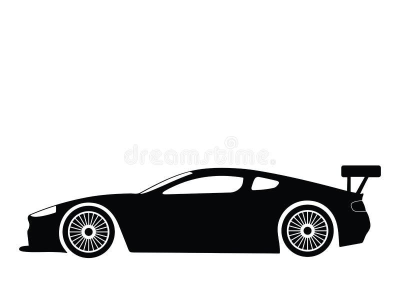 汽车体育运动向量 向量例证