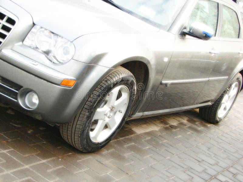 汽车作用现代副样式 免版税库存照片