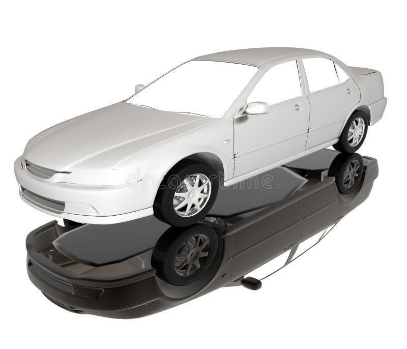 汽车例证 库存例证
