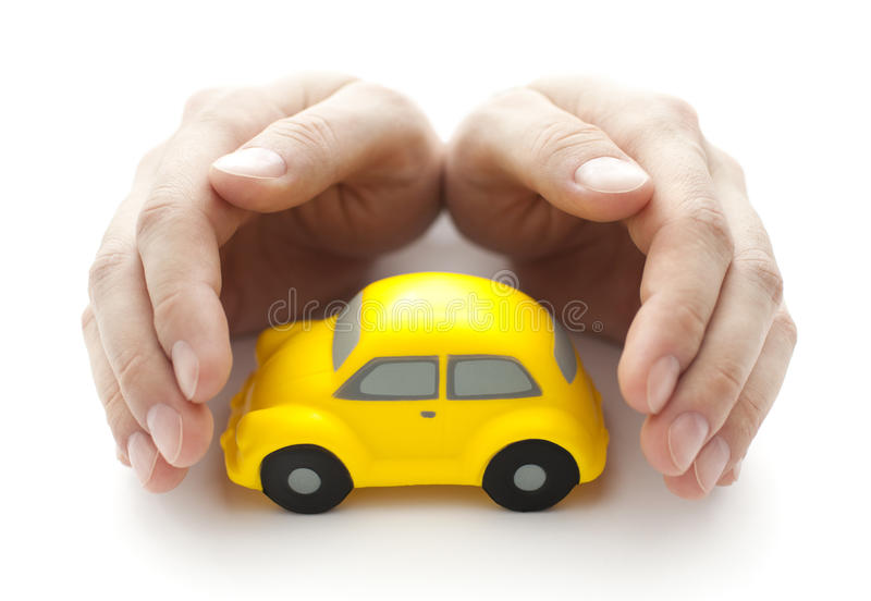 汽车保护您 免版税库存照片
