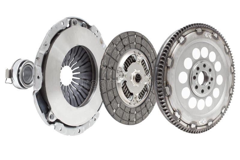 汽车修理工具包传动器指南的元素的构成 免版税库存图片