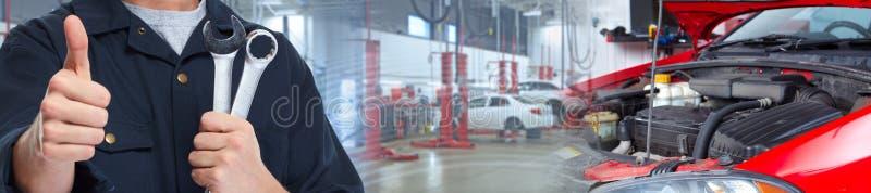 汽车修理师 图库摄影