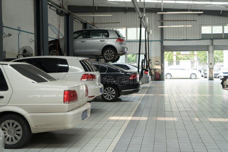汽车修理服务 图库摄影