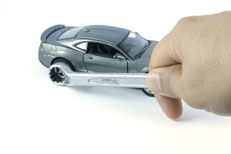 汽车修理,汽车服务,汽车为服务 库存图片