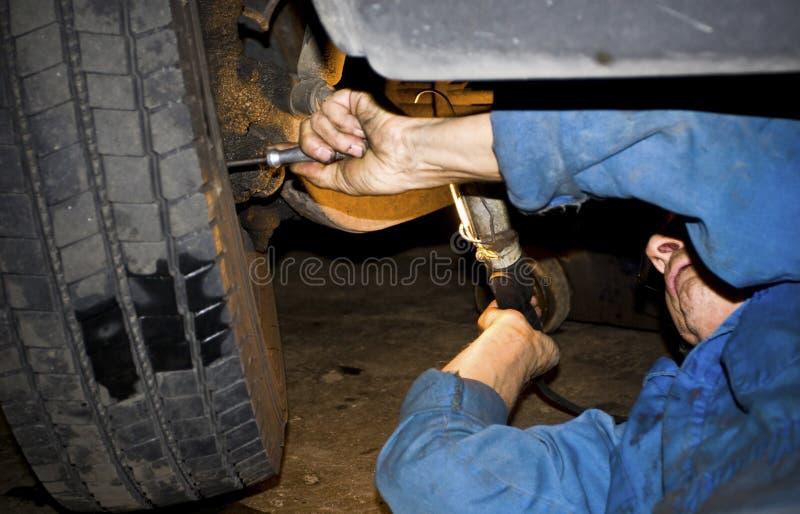 汽车修理 库存照片