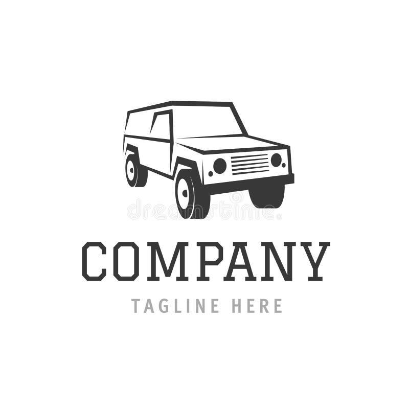 汽车公司标志模板 自动洗涤机器服务商标传染媒介 汽车企业烙记的元素 皇族释放例证