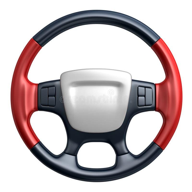 汽车内部指点运输轮子 皇族释放例证