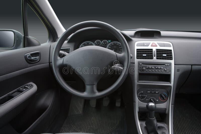 汽车内部 免版税库存照片
