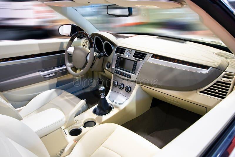 汽车内部 图库摄影