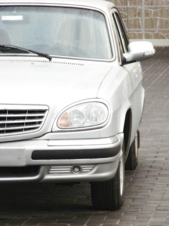 汽车前现代样式 免版税库存照片