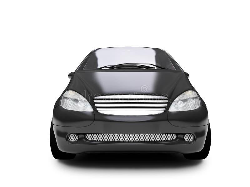 汽车前面微型view01 皇族释放例证