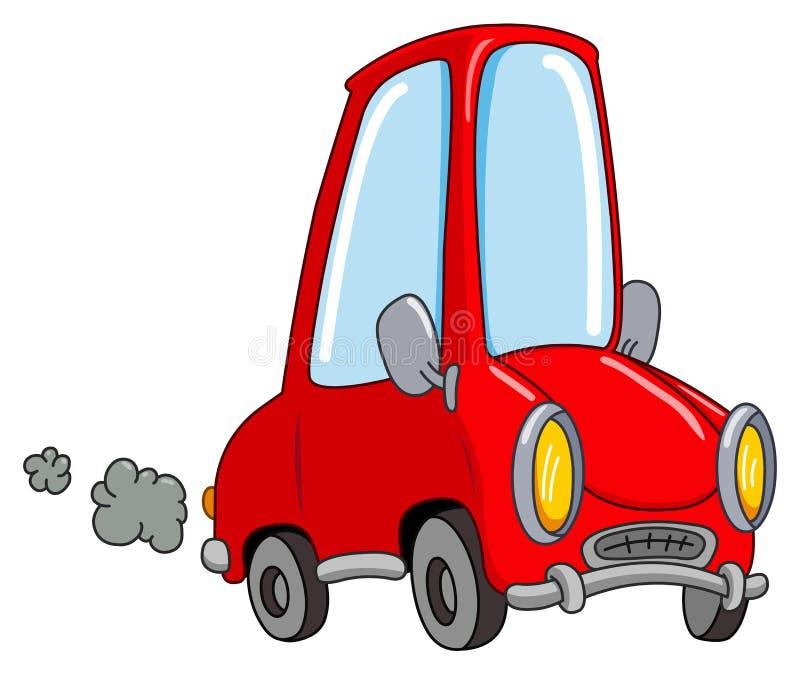 汽车动画片 向量例证