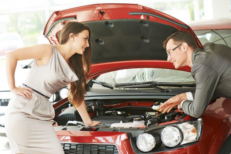 汽车卖或自动购买 库存照片