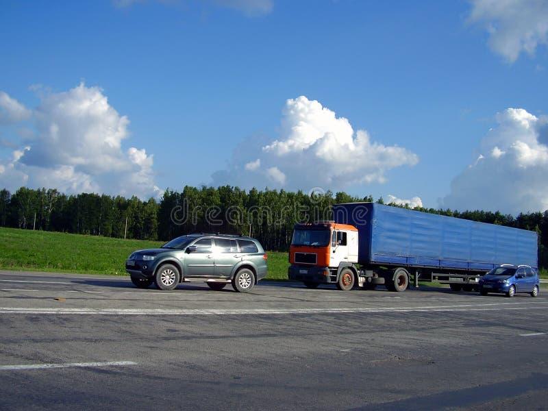 汽车卡车 库存照片