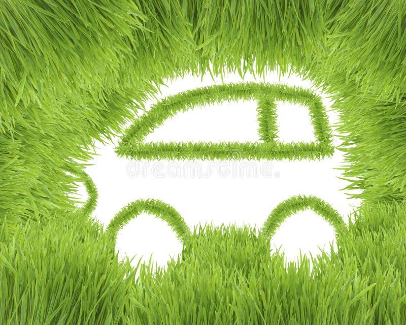 汽车友好概念的eco 向量例证