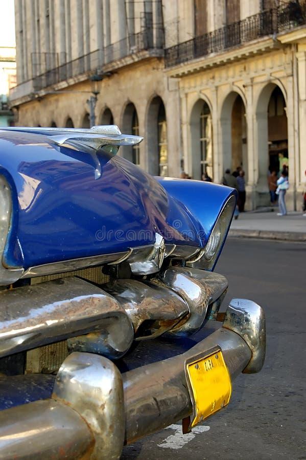 汽车古巴老哈瓦那 免版税库存图片