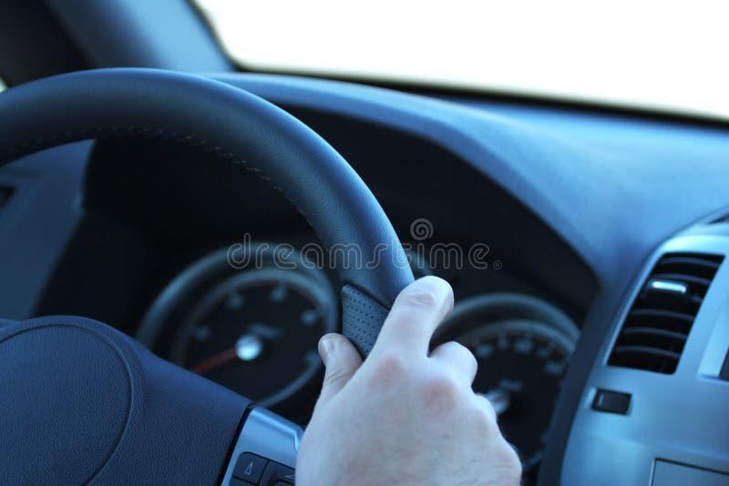 汽车司机 免版税库存照片