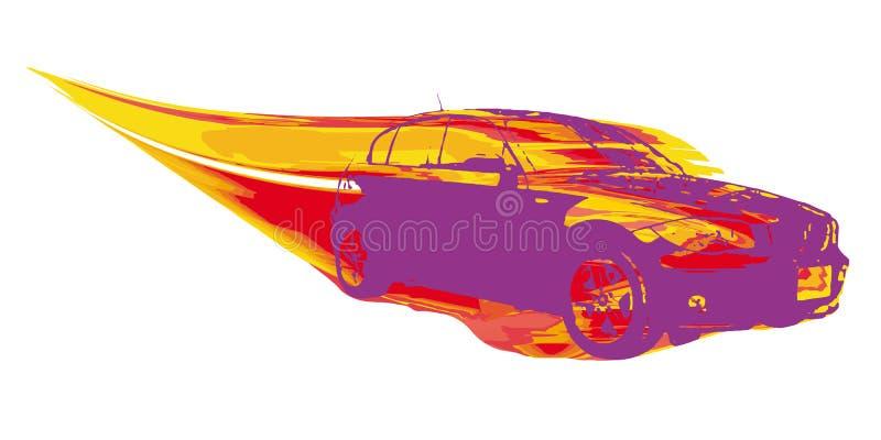 汽车向量 向量例证