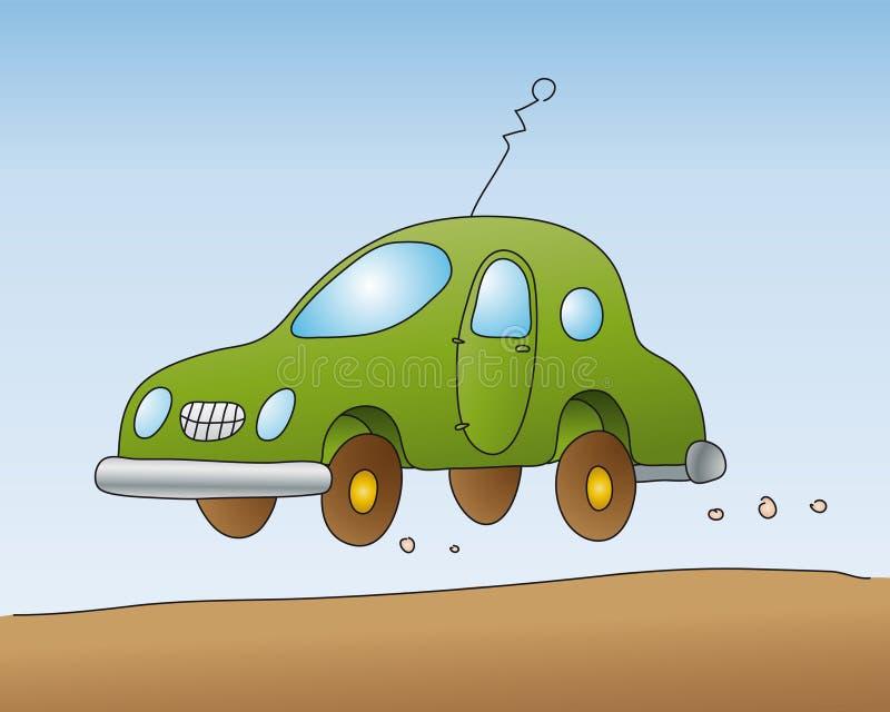 汽车向量 库存例证
