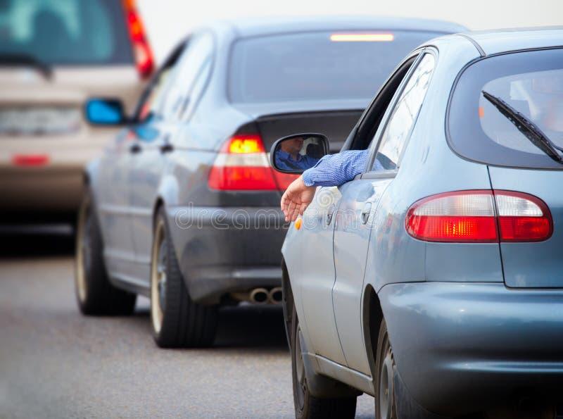 汽车堵塞公路交通 库存图片