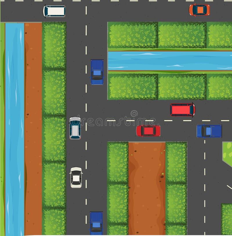 Download 汽车堵塞公路交通 向量例证. 插画 包括有 夹子, 卡车, 运输路线, 轮子, 查找, 高速公路, 动画片 - 59108027