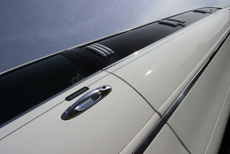 汽车大型高级轿车舒展婚礼 图库摄影