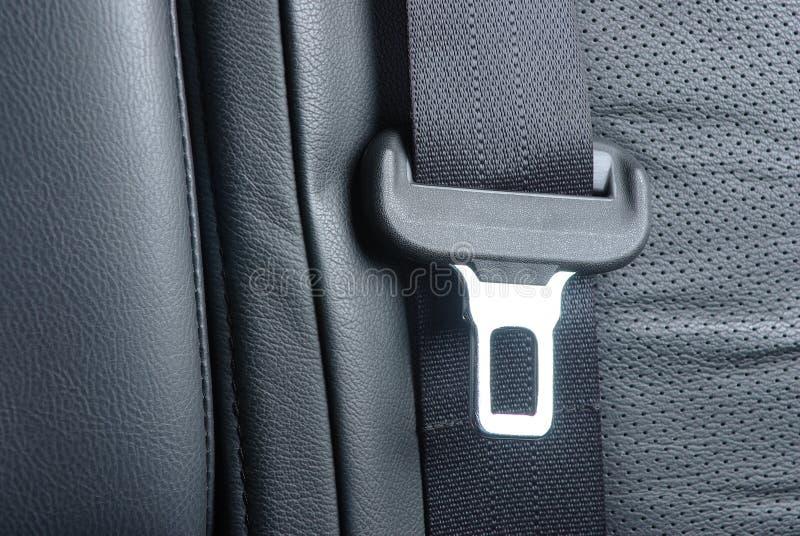 汽车安全带 库存照片