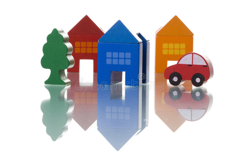 汽车安置结构树 免版税库存图片