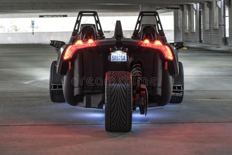 汽车异乎寻常的体育运动 免版税图库摄影