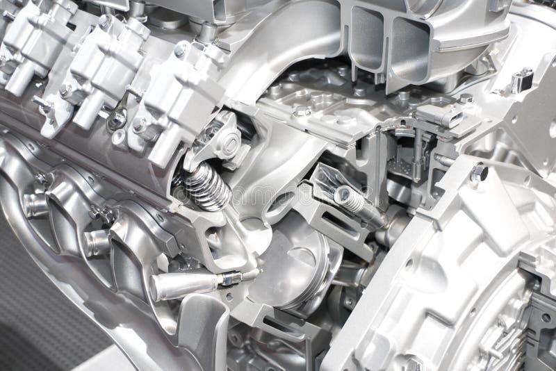 汽车引擎 免版税库存照片