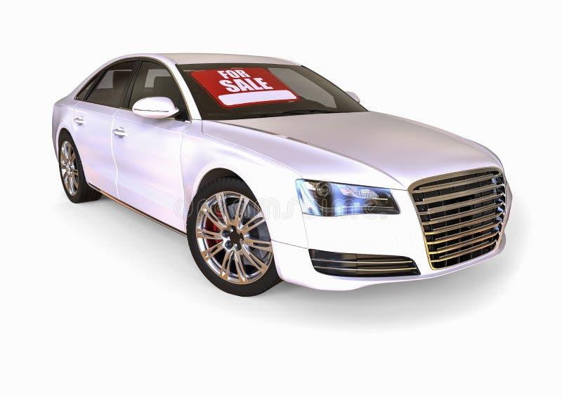 汽车待售 向量例证