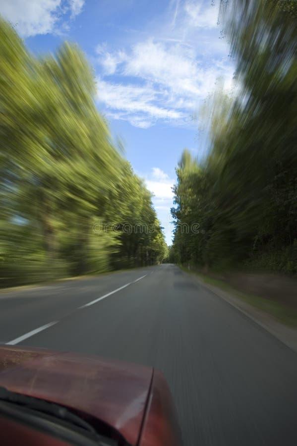 汽车快速去 库存图片