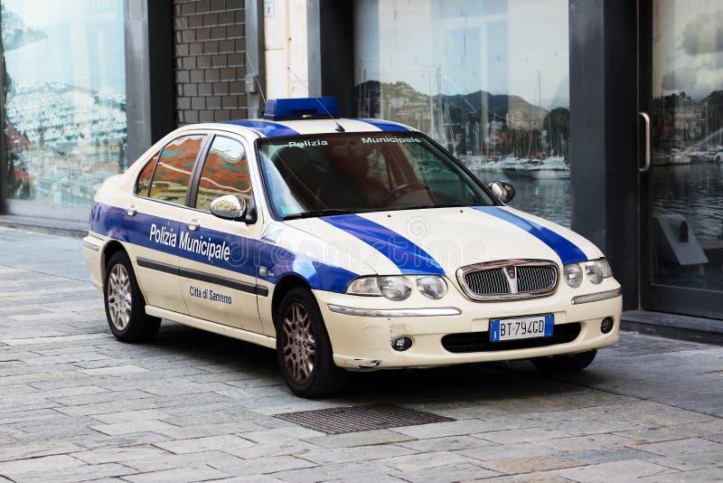 汽车意大利人警察 库存图片