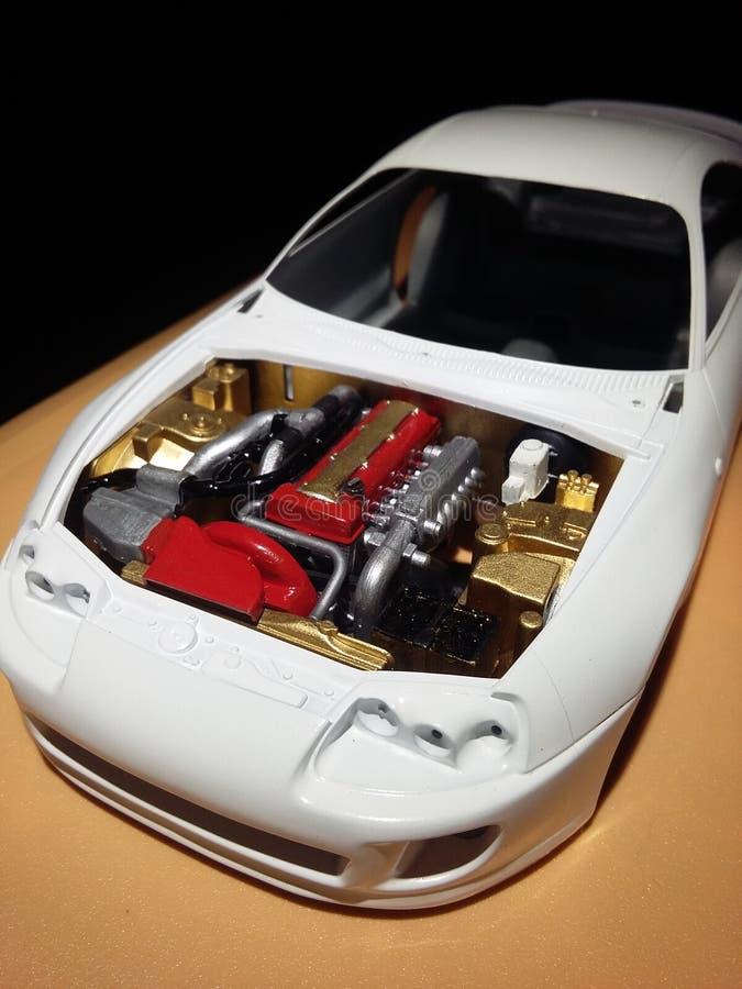汽车我的maquettet  免版税库存照片
