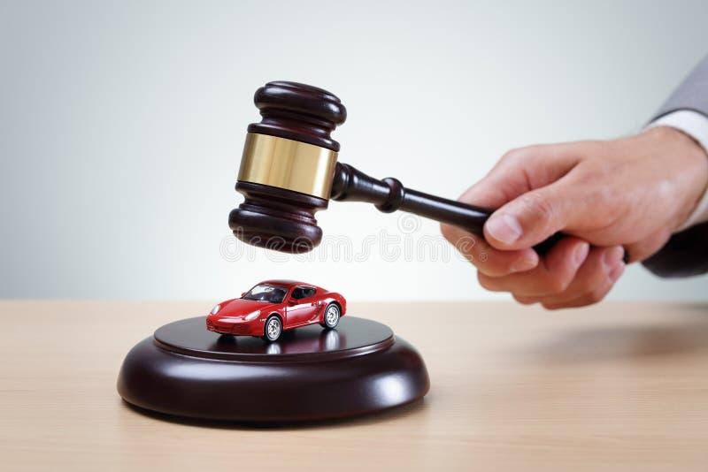 汽车拍卖 免版税图库摄影