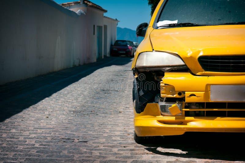 汽车损伤 免版税库存图片