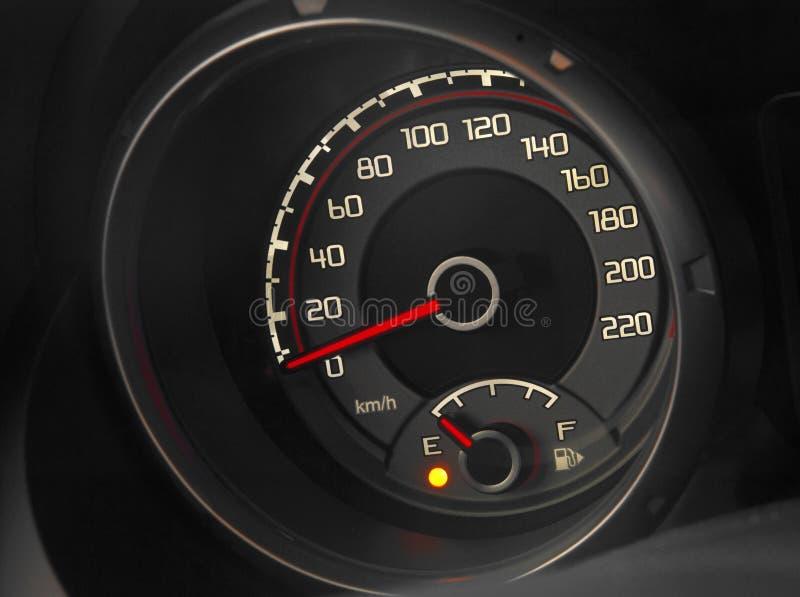汽车接近的控制板现代  免版税库存照片