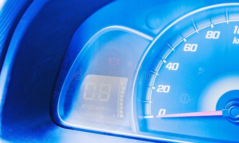 汽车控制台控制板电子仪器航海 免版税库存照片