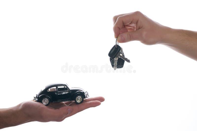 汽车推销员 图库摄影