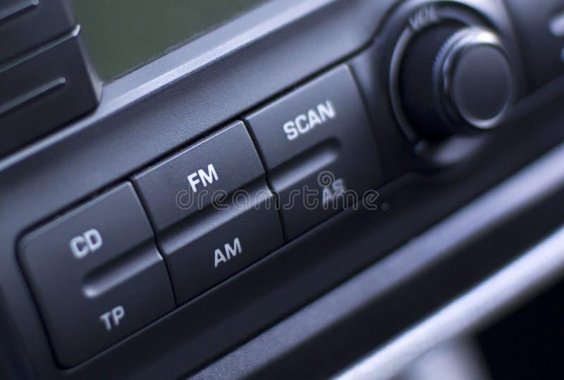 汽车收音机 图库摄影