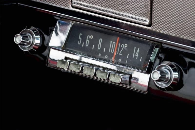 汽车收音机 库存图片
