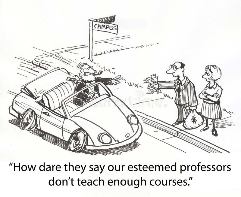 汽车教授体育运动 库存例证