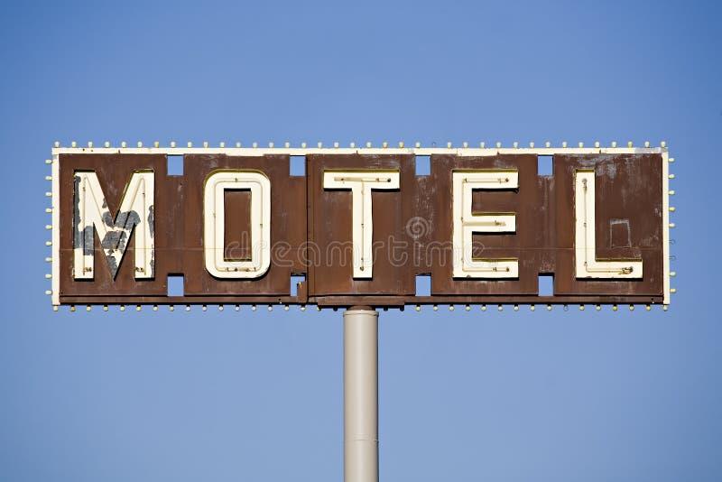汽车旅馆符号 免版税图库摄影