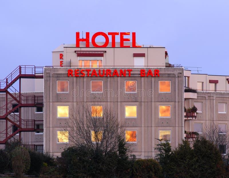汽车旅馆 免版税库存图片