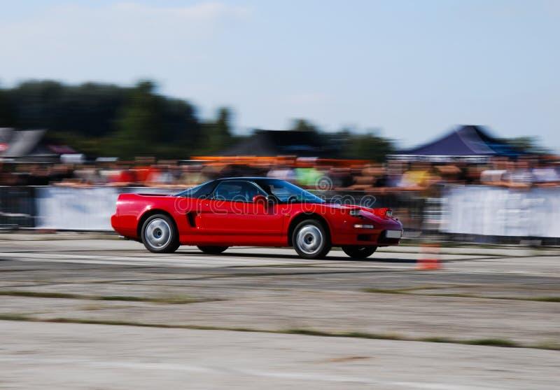 汽车日本人体育运动 库存照片